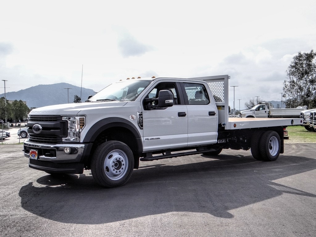 2019 F-550 Crew Cab DRW 4x4, Royal Flatbed #FK5570 - photo 1