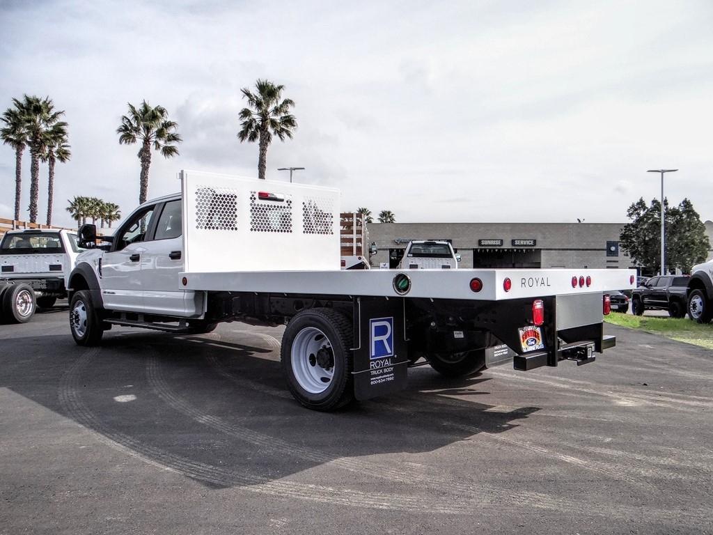 2019 F-550 Crew Cab DRW 4x4, Royal Flatbed #FK5570 - photo 1