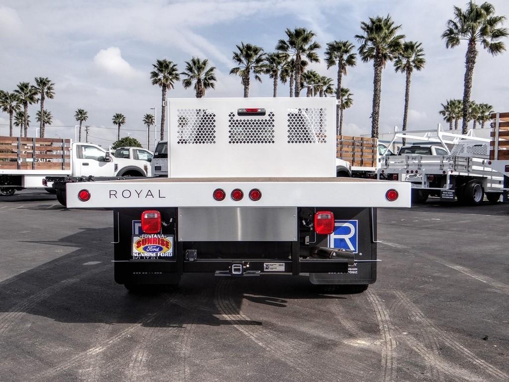 2019 F-550 Crew Cab DRW 4x4, Royal Platform Body Flatbed #FK5570 - photo 4