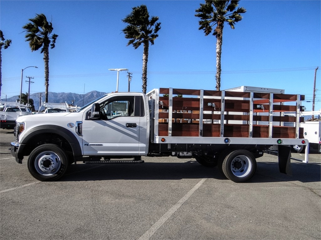 2019 F-450 Regular Cab DRW 4x2, Scelzi WFB Stake Bed #FK5661 - photo 3