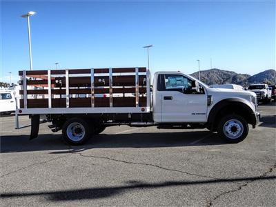 2019 F-450 Regular Cab DRW 4x2, Scelzi WFB Stake Bed #FK5661 - photo 5