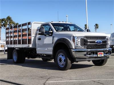 2019 F-450 Regular Cab DRW 4x2, Scelzi WFB Stake Bed #FK5661 - photo 6