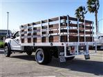 2019 F-450 Regular Cab DRW 4x2, Scelzi WFB Stake Bed #FK5661 - photo 2