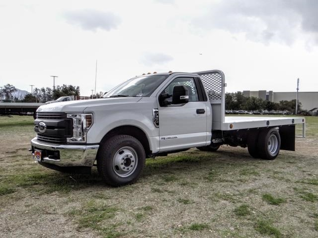 2019 F-350 Regular Cab DRW 4x2, Scelzi Flatbed #FK5709 - photo 1