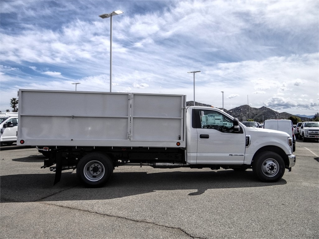 2019 F-350 Regular Cab DRW 4x2, Scelzi Landscape Dump #FK5721 - photo 9