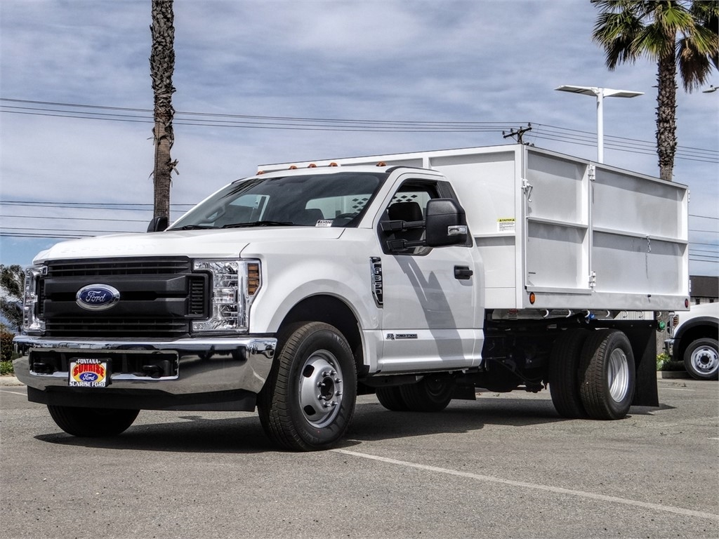 2019 F-350 Regular Cab DRW 4x2, Scelzi Landscape Dump #FK5721 - photo 1