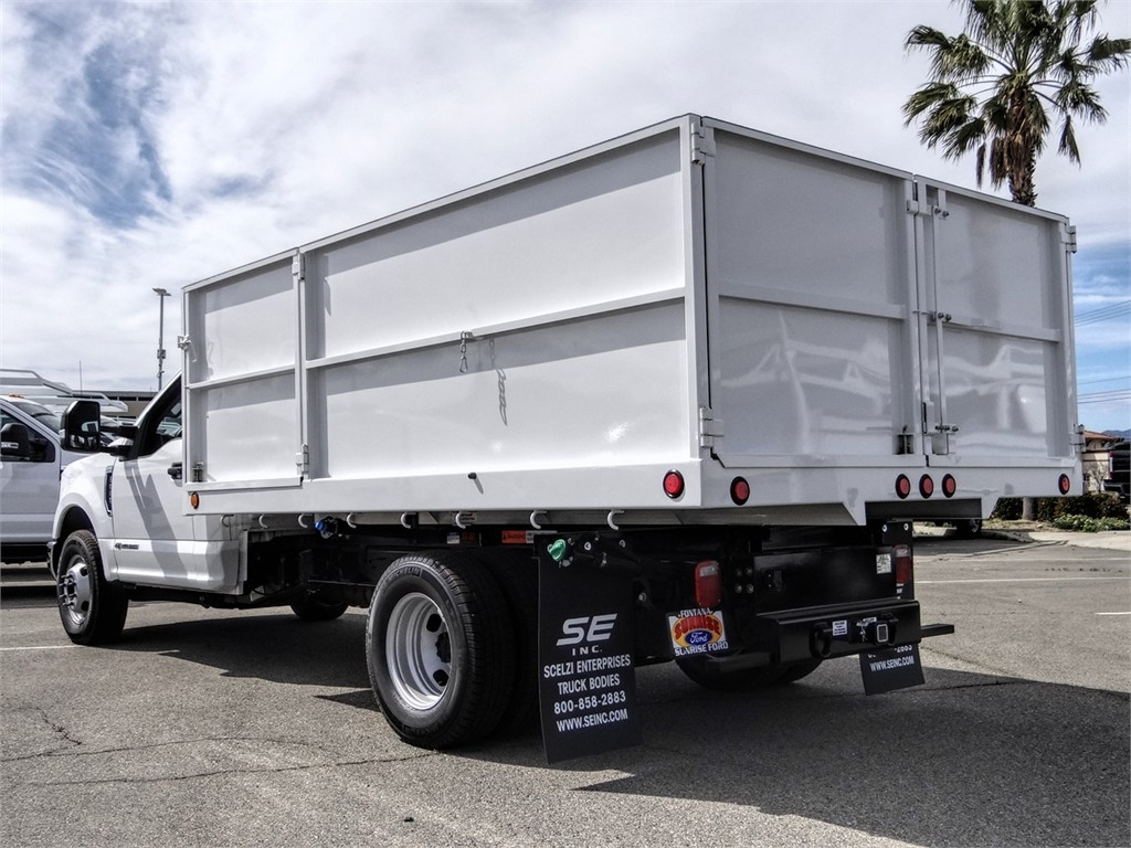 2019 F-350 Regular Cab DRW 4x2, Scelzi Landscape Dump #FK5721 - photo 2