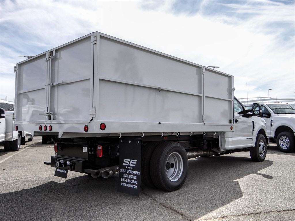 2019 F-350 Regular Cab DRW 4x2, Scelzi Landscape Dump #FK5721 - photo 3