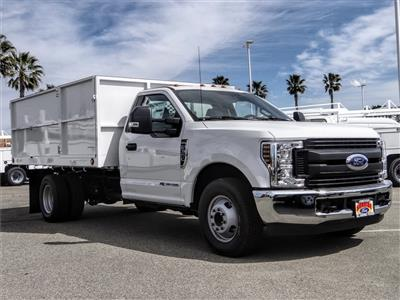 2019 F-350 Regular Cab DRW 4x2, Scelzi Landscape Dump #FK5721 - photo 4