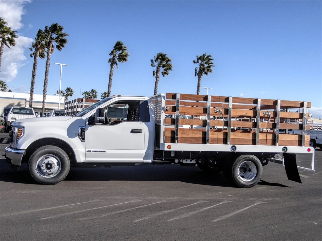 2019 F-350 Regular Cab DRW 4x2, Scelzi WFB Stake Bed #FK5725 - photo 3