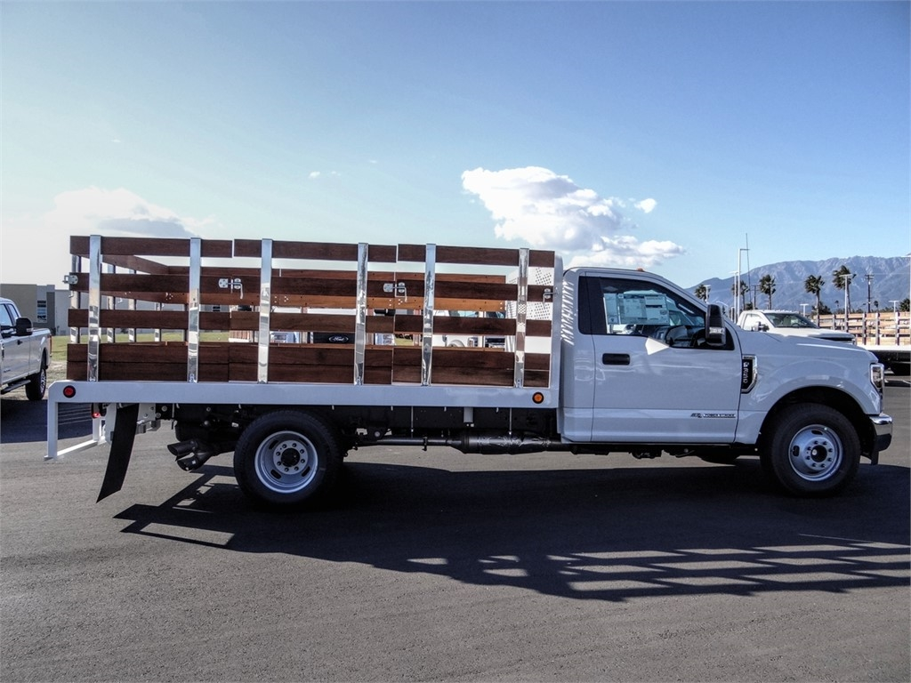 2019 F-350 Regular Cab DRW 4x2, Scelzi WFB Stake Bed #FK5725 - photo 5