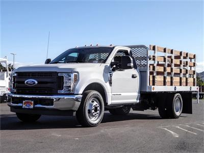 2019 F-350 Regular Cab DRW 4x2, Scelzi WFB Stake Bed #FK5725 - photo 1