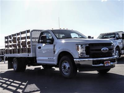 2019 F-350 Regular Cab DRW 4x2, Scelzi WFB Stake Bed #FK5725 - photo 6