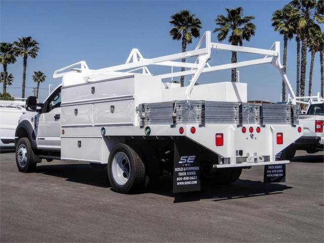 2019 F-450 Regular Cab DRW 4x2, Scelzi Contractor Body #FK5726 - photo 1