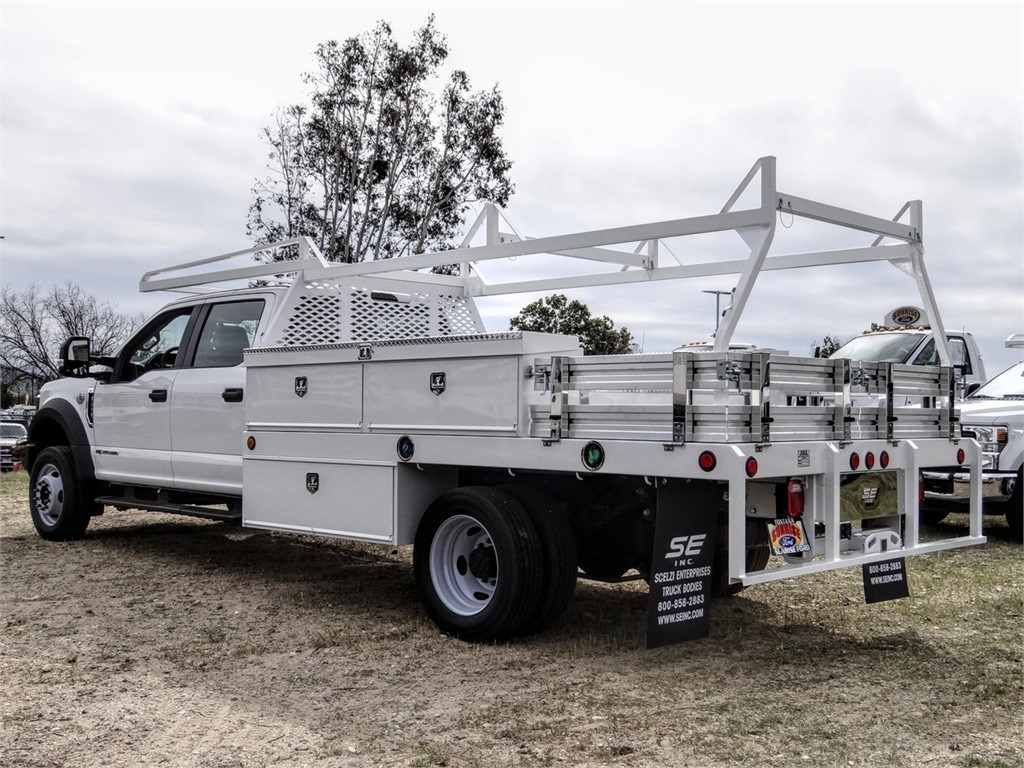 2019 F-450 Crew Cab DRW 4x2, Scelzi Contractor Body #FK5737 - photo 1