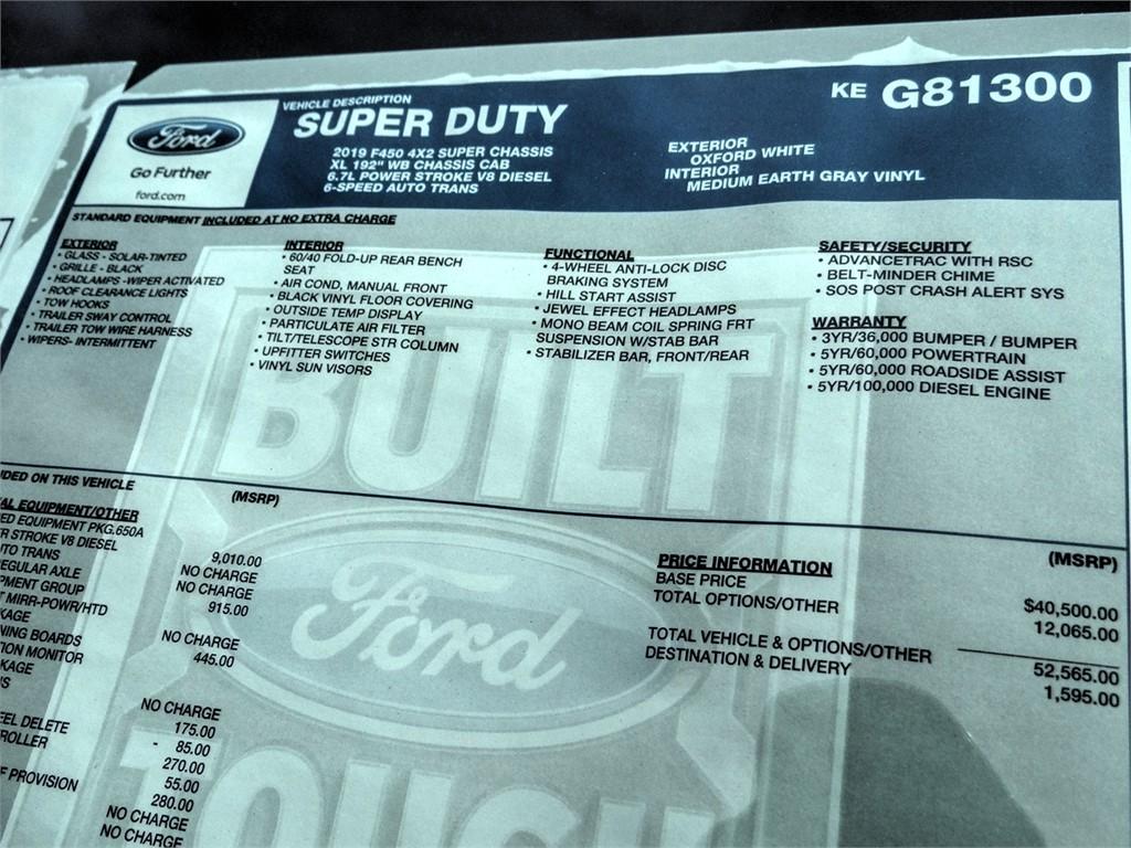 2019 F-450 Super Cab DRW 4x2, Scelzi CTFB Contractor Body #FK5739 - photo 10