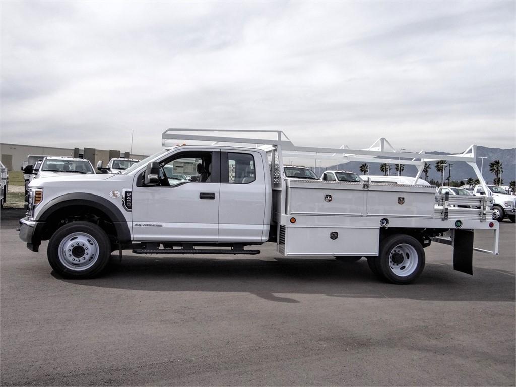 2019 F-450 Super Cab DRW 4x2, Scelzi CTFB Contractor Body #FK5739 - photo 3