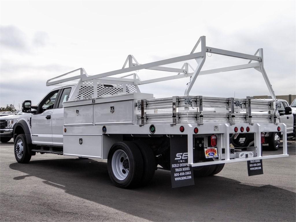 2019 F-450 Super Cab DRW 4x2, Scelzi CTFB Contractor Body #FK5739 - photo 2