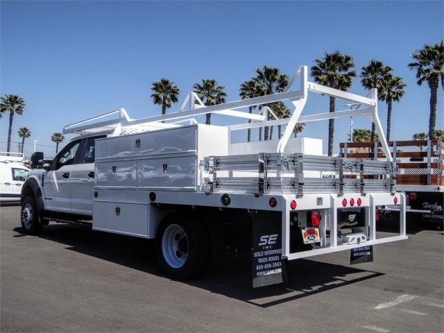 2019 F-550 Crew Cab DRW 4x2, Scelzi Contractor Body #FK5746 - photo 1