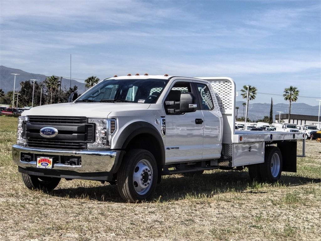 2019 F-450 Super Cab DRW 4x2, Scelzi Flatbed #FK5748 - photo 1