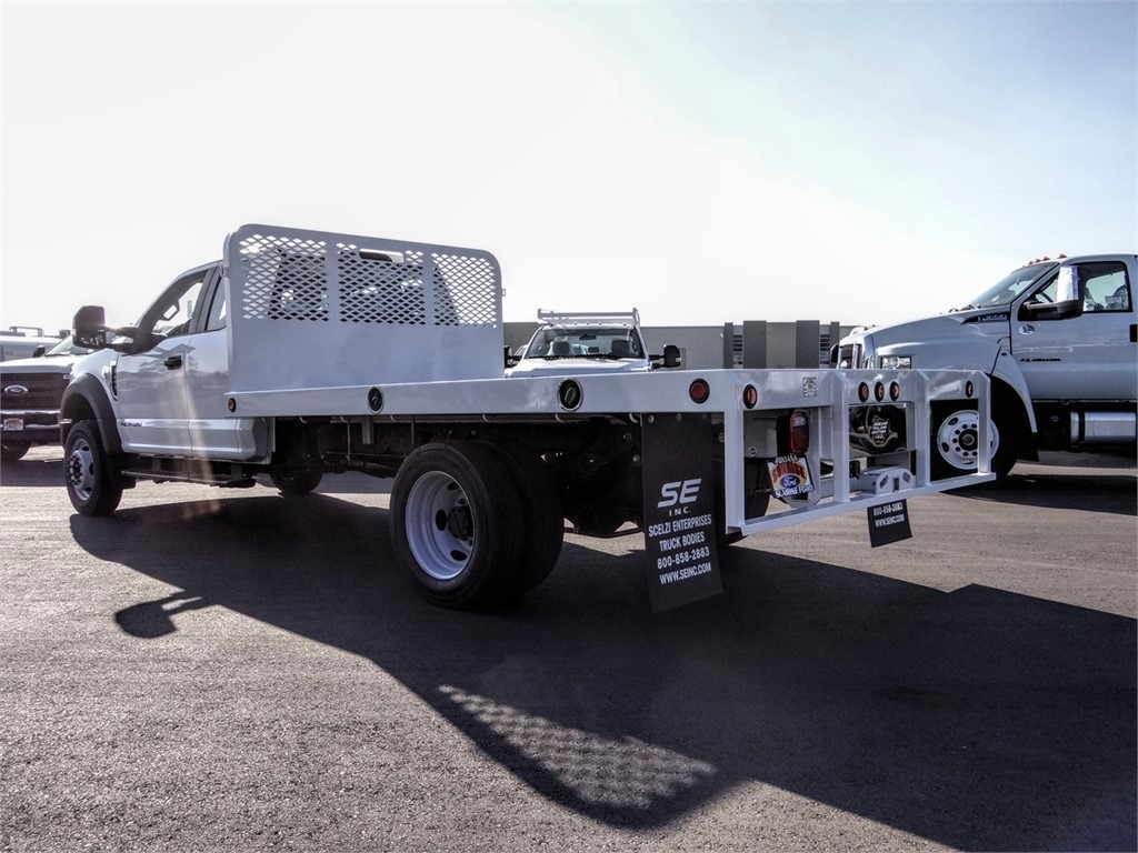 2019 F-450 Super Cab DRW 4x2, Scelzi Flatbed #FK5749 - photo 1