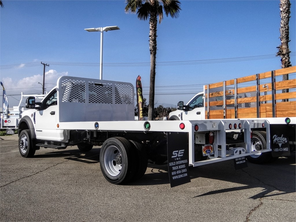 2019 F-450 Regular Cab DRW 4x2, Scelzi Flatbed #FK5751 - photo 1