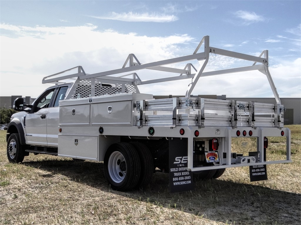 2019 F-550 Super Cab DRW 4x2, Scelzi Contractor Body #FK5753 - photo 1