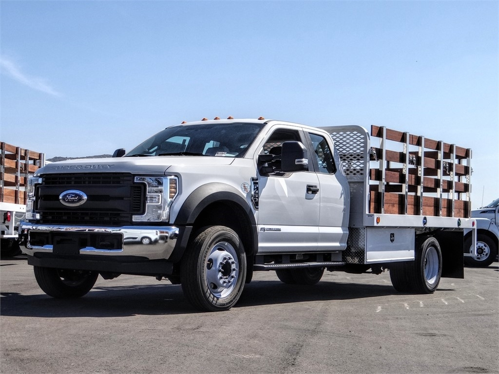 2019 F-450 Super Cab DRW 4x2, Scelzi Stake Bed #FK5754 - photo 1