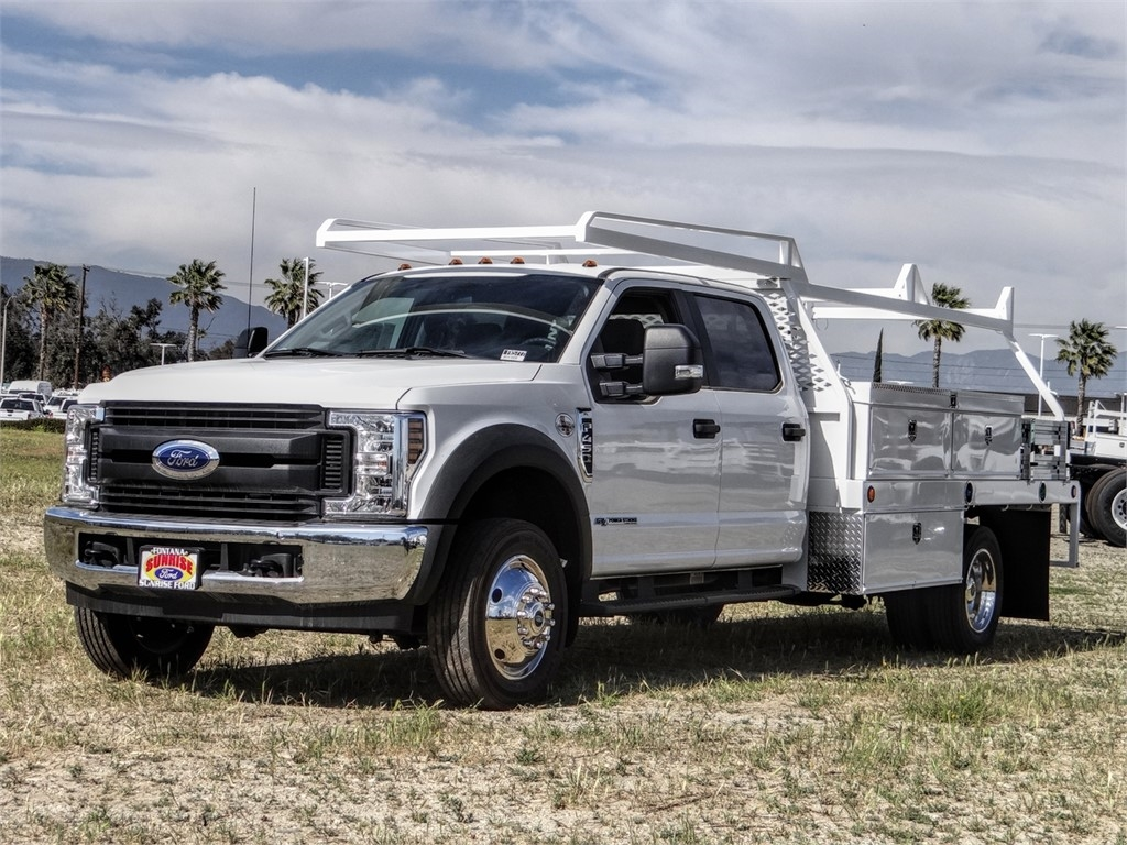 2019 F-450 Crew Cab DRW 4x2, Scelzi Contractor Body #FK5777 - photo 1