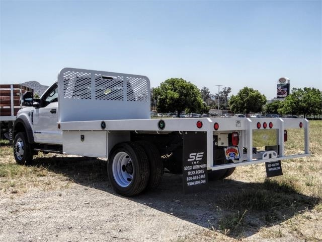 2019 Ford F-550 Regular Cab DRW 4x2, Scelzi Flatbed #FK5785DT - photo 1