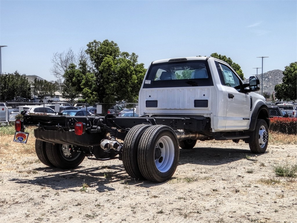 2019 Ford F-550 Regular Cab DRW 4x2, Cab Chassis #FK5786DT - photo 4