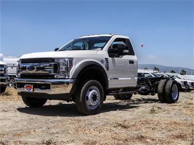 2019 Ford F-550 Regular Cab DRW 4x2, Cab Chassis #FK5786DT - photo 1