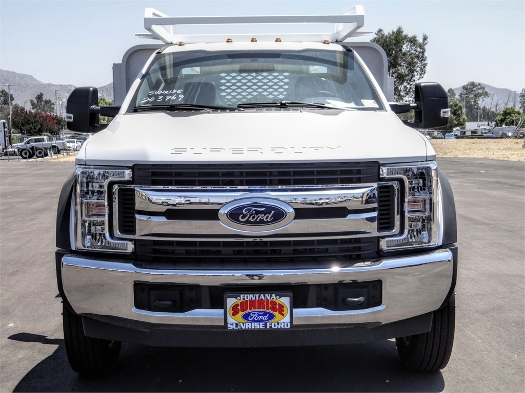 2019 Ford F-550 Regular Cab DRW 4x2, Scelzi SFB Contractor Body #FK5787DT - photo 7