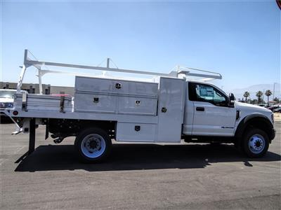 2019 Ford F-550 Regular Cab DRW 4x2, Scelzi SFB Contractor Body #FK5787DT - photo 5