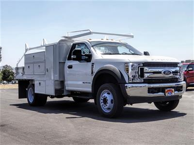 2019 Ford F-550 Regular Cab DRW 4x2, Scelzi SFB Contractor Body #FK5787DT - photo 6