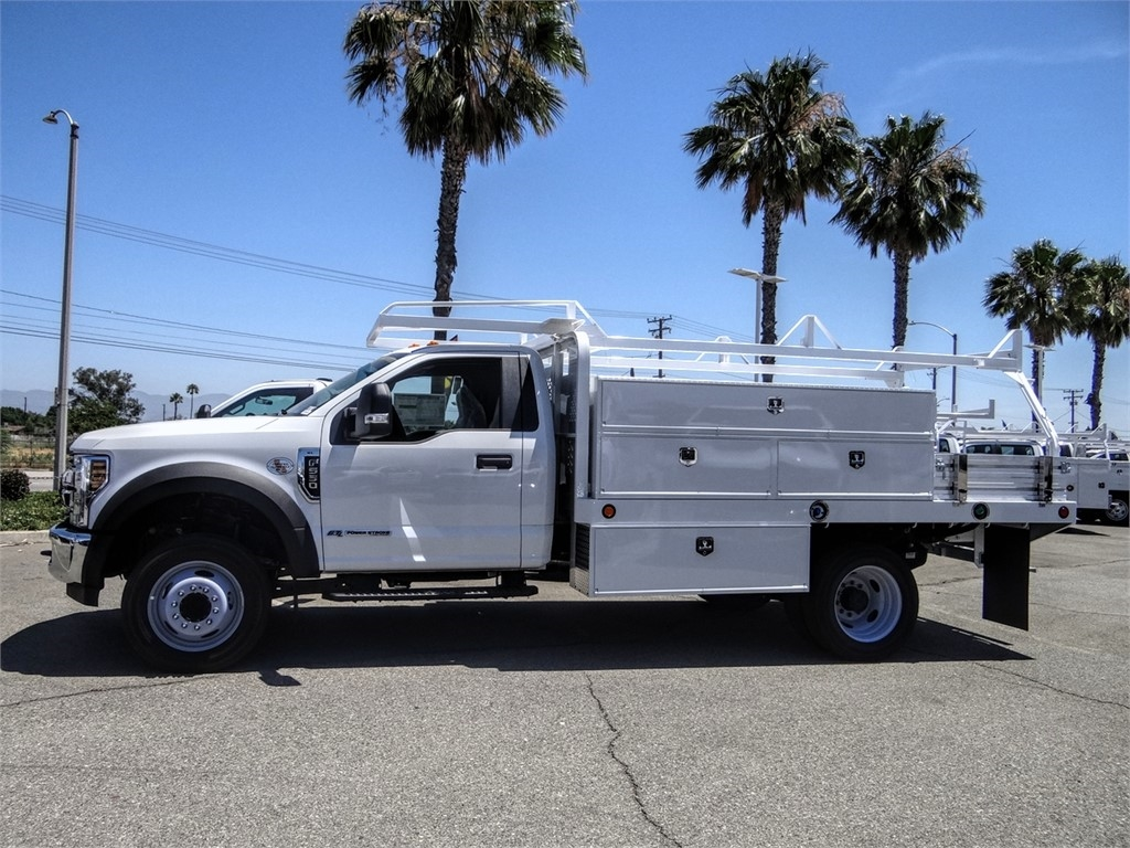 2019 Ford F-550 Regular Cab DRW 4x2, Scelzi SFB Contractor Body #FK5788DT - photo 3