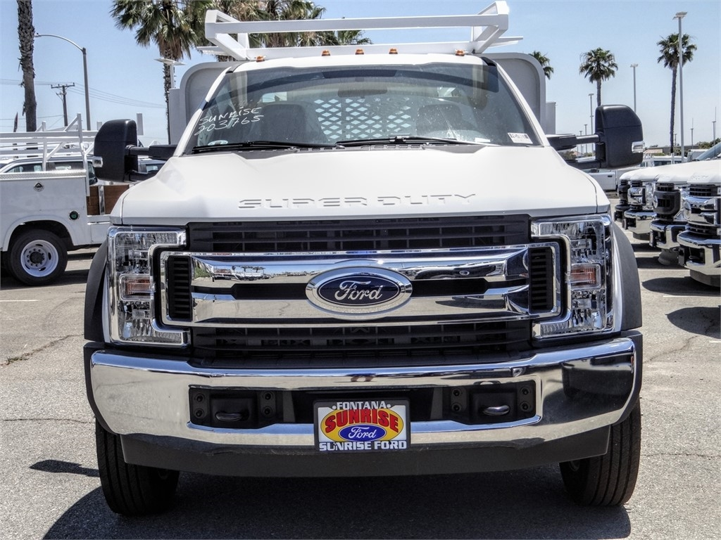 2019 Ford F-550 Regular Cab DRW 4x2, Scelzi SFB Contractor Body #FK5788DT - photo 7