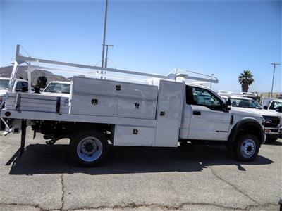 2019 Ford F-550 Regular Cab DRW 4x2, Scelzi SFB Contractor Body #FK5788DT - photo 5