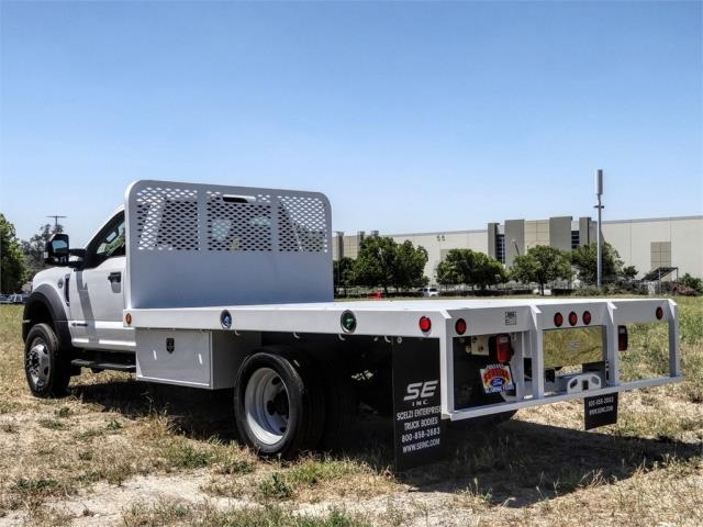 2019 Ford F-550 Regular Cab DRW 4x2, Scelzi Flatbed #FK5792DT - photo 1
