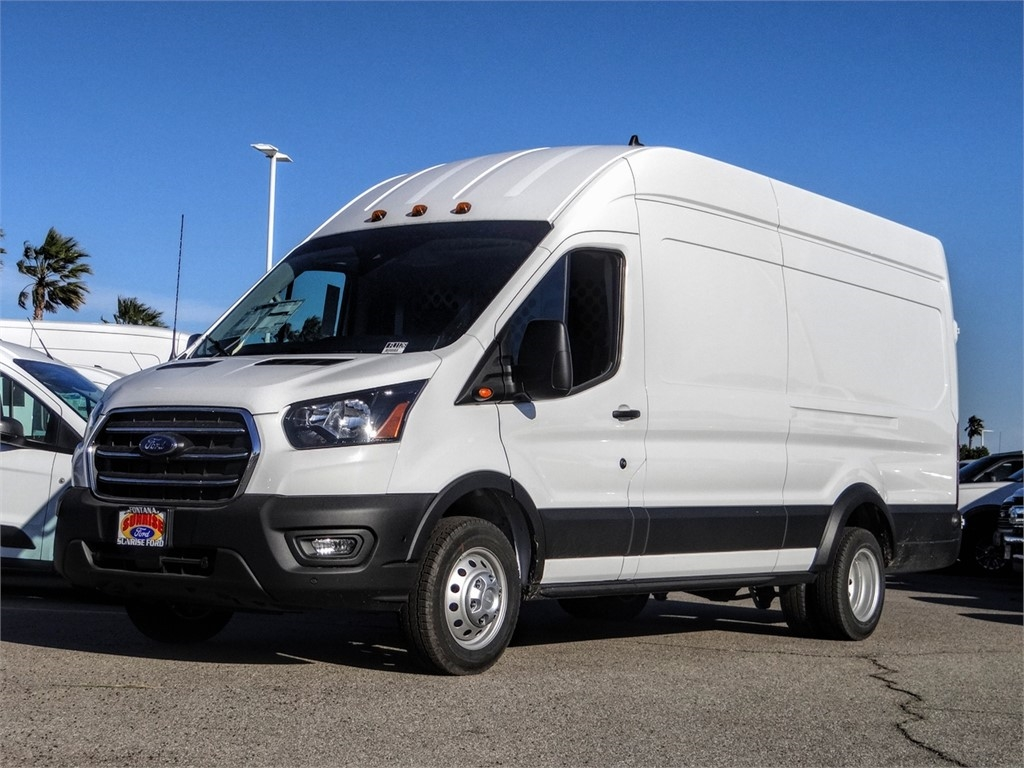 2020 Transit 350 HD High Roof DRW RWD, Harbor Upfitted Cargo Van #FL1126 - photo 1