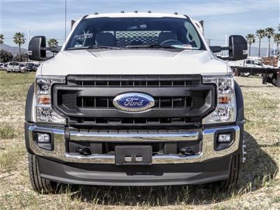2020 Ford F-550 Crew Cab DRW 4x2, Scelzi WFB Stake Bed #FL1252 - photo 7