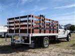 2020 Ford F-550 Crew Cab DRW 4x2, Scelzi WFB Stake Bed #FL1252 - photo 4