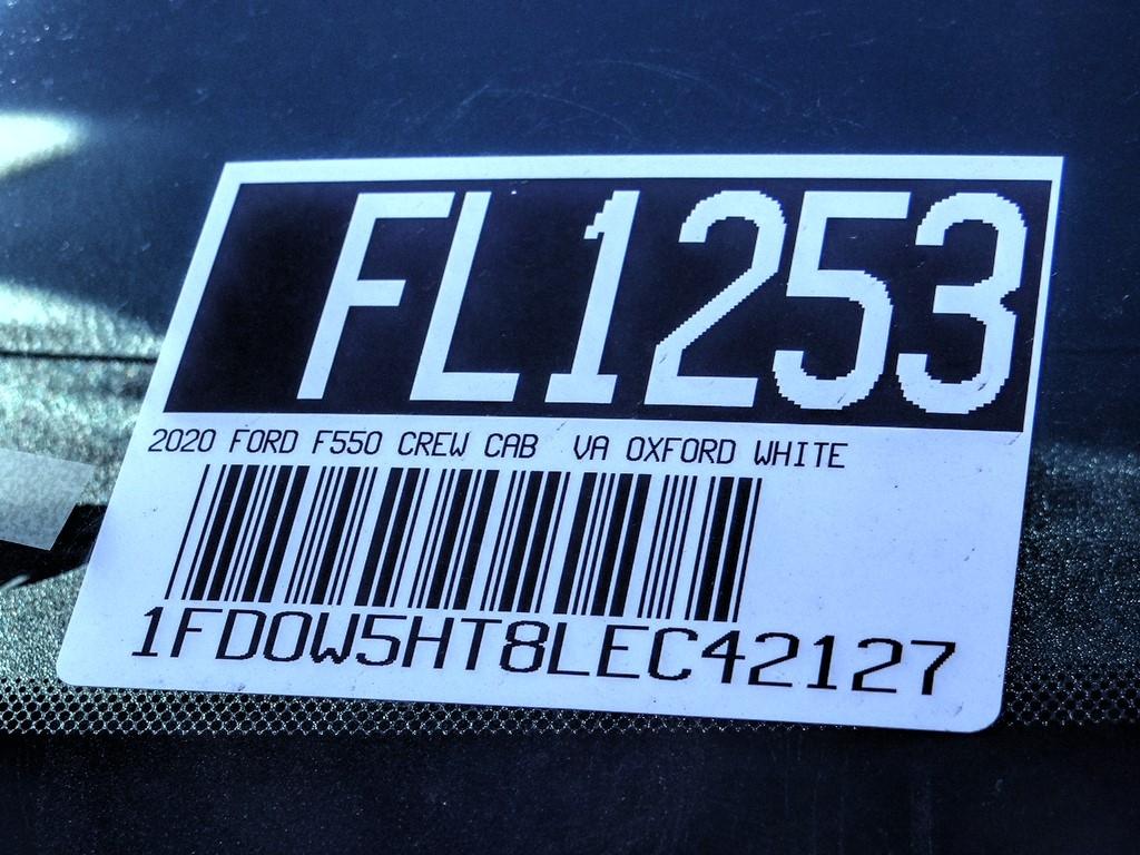 2020 F-550 Crew Cab DRW 4x4, Cab Chassis #FL1253 - photo 10
