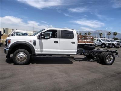 2020 Ford F-550 Crew Cab DRW 4x2, Cab Chassis #FL1295 - photo 3