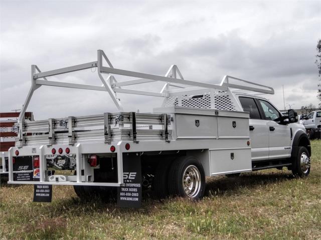 2020 Ford F-550 Crew Cab DRW 4x2, Scelzi CTFB Contractor Body #FL1461 - photo 4
