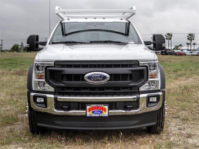 2020 Ford F-550 Crew Cab DRW 4x2, Scelzi CTFB Contractor Body #FL1461 - photo 7