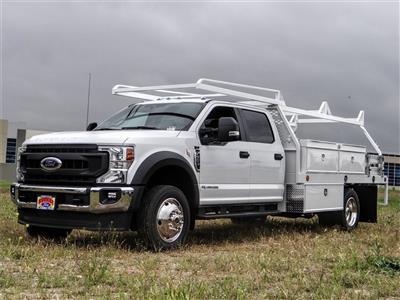 2020 Ford F-550 Crew Cab DRW 4x2, Scelzi CTFB Contractor Body #FL1461 - photo 1