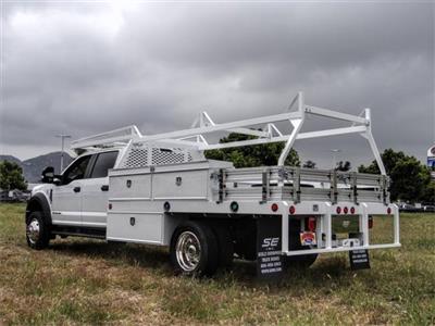 2020 Ford F-550 Crew Cab DRW 4x2, Scelzi CTFB Contractor Body #FL1461 - photo 2