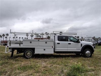 2020 Ford F-550 Crew Cab DRW 4x2, Scelzi CTFB Contractor Body #FL1461 - photo 5