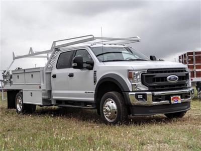 2020 Ford F-550 Crew Cab DRW 4x2, Scelzi CTFB Contractor Body #FL1461 - photo 6